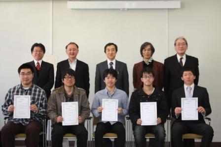 平成24年度工学部奨励賞表彰式を挙行