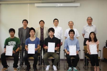 平成25年度工学部奨励賞表彰式を挙行