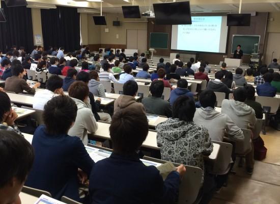 【学大将プロジェクト】平成26年度新入生対象の説明会を開催