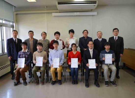 平成26年度工学部奨励賞表彰式を挙行