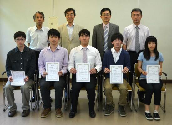 平成27年度工学部奨励賞表彰式を挙行