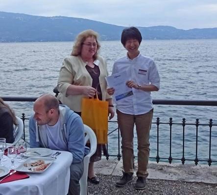 大学院修士1年の佐藤 正樹さんがベストポスタープレゼンテーション賞を受賞