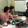 Development of autonomous mobile robot