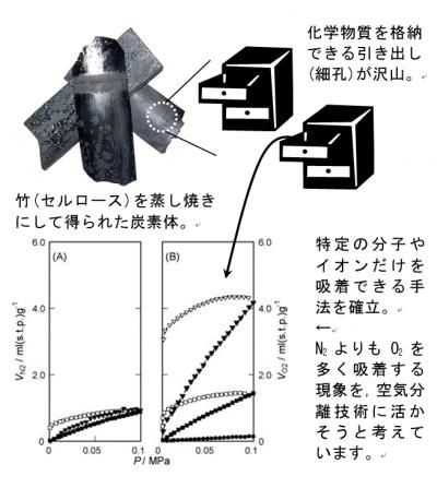 炭素を活用した高機能性吸着剤の開発