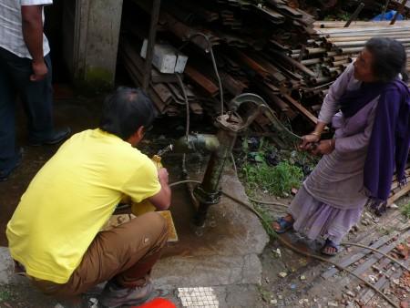 水の中の病原微生物を追いかける