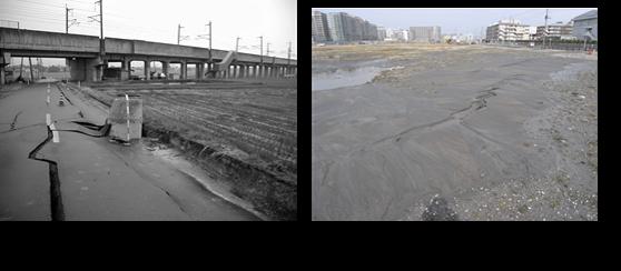 地震および豪雨による地盤災害の発生メカニズムと防災に関する研究