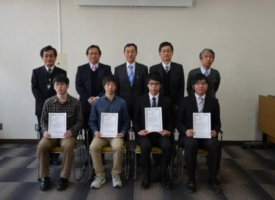 平成27年度工学部奨励賞表彰式