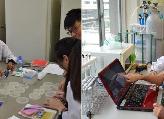 マレーシア・パハン大学の学生を招いた科学技術体験研修を開催