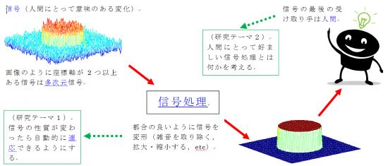 多次元適応信号処理