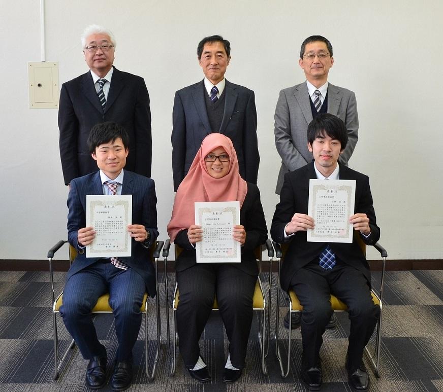 平成29年度工学部奨励賞表彰式を挙行