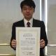 波切 堅太郎さん(2019年修士課程修了)が応用物理学会で講演奨励賞を受賞