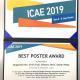 キムサンウック工学部研究員が、ICAE 2019にてBest Poster Award (Gold)を受賞
