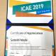 和田智志 工学部教授が、ICAE国際会議の2019年ICAE Awardを受賞